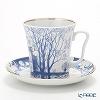 Russia kitchen Imperial porcelain nannelli Mug & saucer set 360 cc