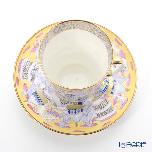 Imperial Porcelain / Lomonosov 'Frosty Evening - May' Coffee Cup & Saucer 165ml