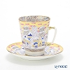Russia kitchen Imperial porcelain frosty evening Coffee Cup & Saucer (Mei) 165 cc