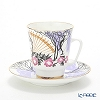 Russia kitchen Imperial porcelain Akhmatova Tea Cup & Saucer (Mei) 155 cc