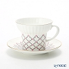 Russia kitchen Imperial-porcelain rose NET Tea Cup & Saucer 155 cc
