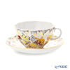 Imperial Porcelain / Lomonosov 'Golden Chamomile' Tea Cup & Saucer 250ml