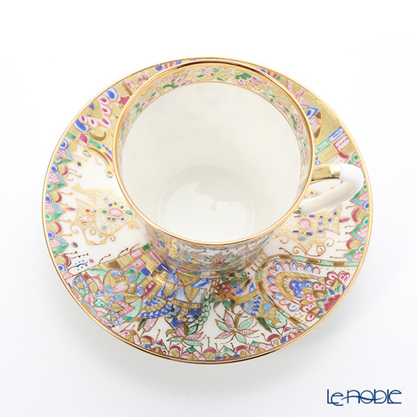 Imperial Porcelain Oriental gifts Demitasse Cup & Saucer 80 cc