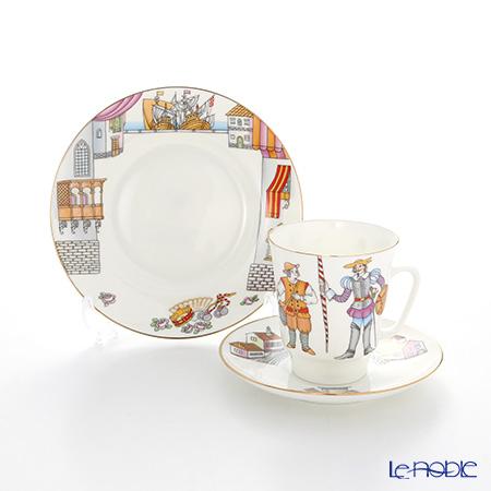ロシア食器 インペリアル・ポーセリン バレエコレクション 3ピースセット ドンキホーテ