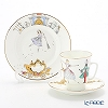 Russia tableware Imperial porcelain Ballet collection 3 piece set-Cinderella