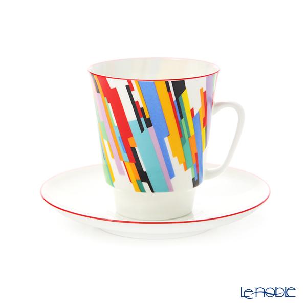 ロシア食器 インペリアル・ポーセリン ムーブメント ティーカップ&ソーサー No.2 165cc