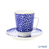 Imperial Porcelain / Lomonosov 'Mood Quiet - May' Tea Cup & Saucer 165ml