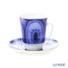 Imperial Porcelain / Lomonosov 'Mood Ethno - May' Tea Cup & Saucer 165ml