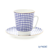 Imperial Porcelain / Lomonosov 'Mood Tweed - May' Tea Cup & Saucer 165ml