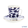 Imperial Porcelain / Lomonosov 'Mood Melody - May' Tea Cup & Saucer 165ml