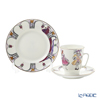 Imperial Porcelain / Lomonosov 'Ballet - Sleeping Beauty' Tea Cup & Saucer, Plate (set of 2 for 1 person)