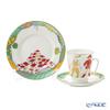 Imperial Porcelain / Lomonosov 'Ballet - Chiporino' Tea Cup & Saucer, Plate (set of 2 for 1 person)
