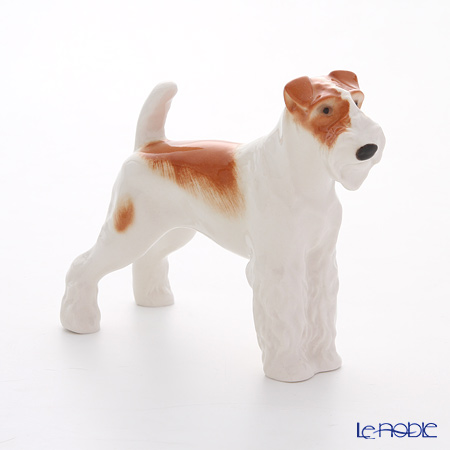 Imperial Porcelain Animal Figurines Collection Wire Fox Terrier 11.6 cm