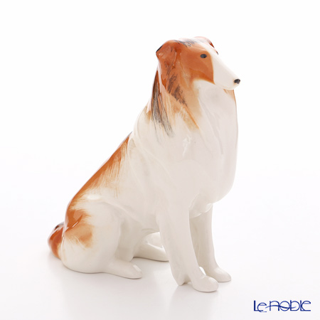Imperial Porcelain / Lomonosov 'Collie (Dog)' Figurine H16cm