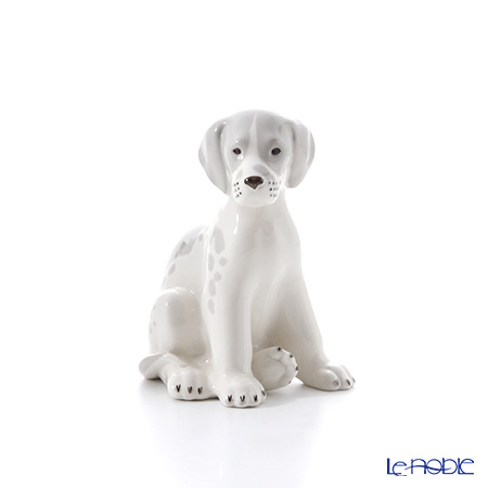Imperial Porcelain / Lomonosov 'Beagle Puppy (Dog)' Figurine H17.5cm