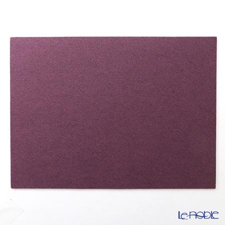 Daff 'Purple' Felt Place Mat 42x31cm