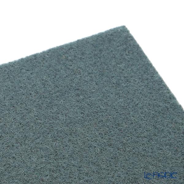 Daff 'Dark Green' Square Felt Mat 18cm