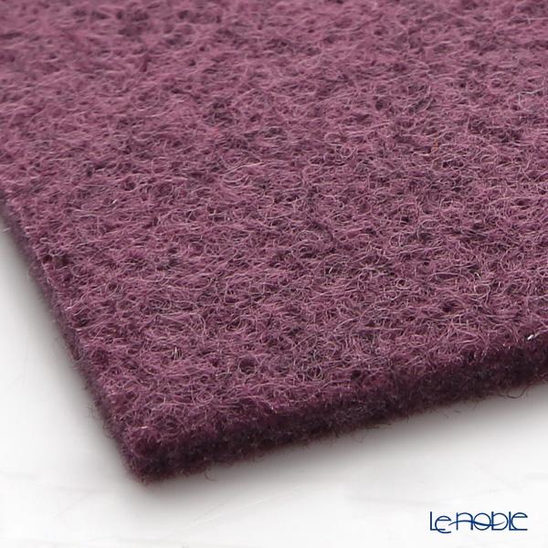 Daff 'Purple' Square Felt Mat 18cm