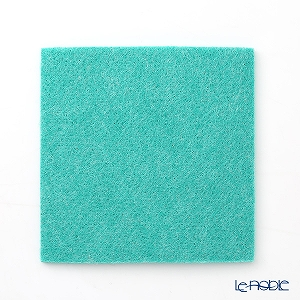 DAFF square coaster 10 cm Green
