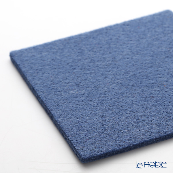 DAFF 'Blue' Square Felt Coaster 10cm