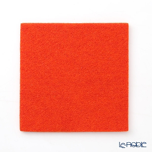 DAFF square coaster Orange 10 cm