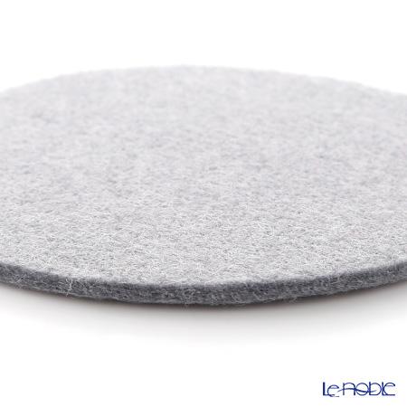DAFF coaster 10 cm light grey