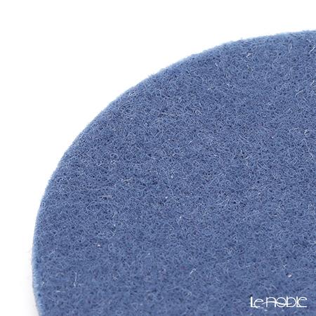 Daff 'Blue' Round Felt Coaster 10cm