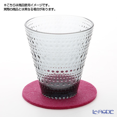 DAFF coaster 10 cm wine red