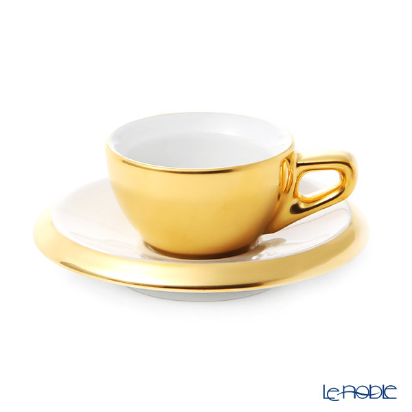 Walkure 'Rossi' outside Matt Gold Espresso Coffee Cup & Saucer 60ml