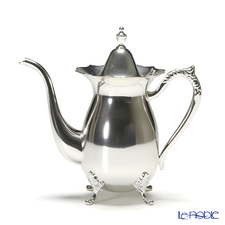 Hayakawa Silver 'Server' 05-20 [Clear Light Silver] Coffee Pot 640ml