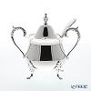 Hayakawa Silver 'Server' 06-60 [Clear Light Silver] Sugar Pot with Ladle 170ml