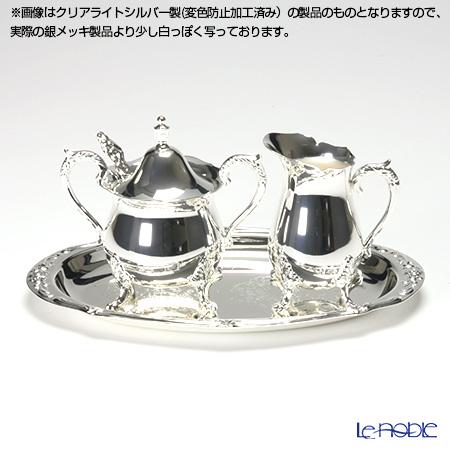Silver plated products Hayakawa silver rose Creamer set 06-30