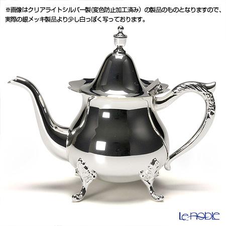【銀メッキ製品】早川シルバー ローズティーポット 2人用 06-50