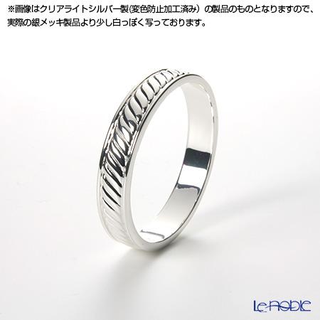 【銀メッキ製品】早川シルバー ナプキンリング丸(幅細) 27-11