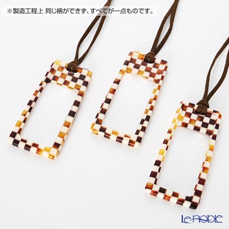 KISSO / Sabae 'Round' Pink Mix Necklace Loupe