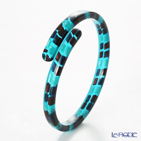 Sabae products: Kisso Dirocca Bracelet, 62 Blue Tile