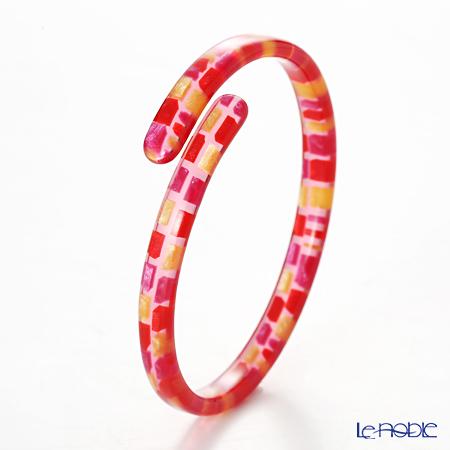Sabae products: Kisso Dirocca Bracelet, 95 Red Tile