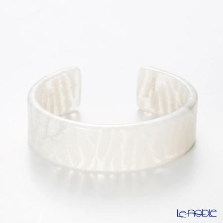 KISSO / Sabae 'Zebra White' Bangle