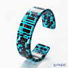 Sabae products: Kisso Dirocca Bangle, 62 Blue Tile
