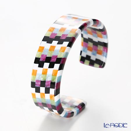 Sabae products: Kisso Dirocca Bangle, 01 Multi Color