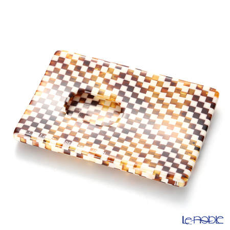 Sabae products: Kisso Italate Card Case, 01 Checkerd