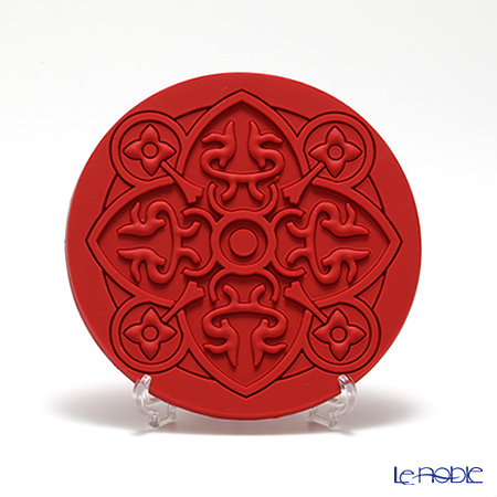 Images D'orient 'Urban - Paprika' Red COA100031 Round Coaster 11cm