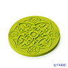 Images D'orient 'Urban - Anis' Lime Green COA100051 Round Coaster 11cm