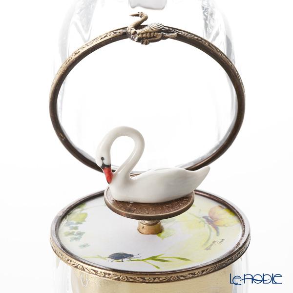 エッグボックス クリスタル スワン (オルゴール付:白鳥の湖/チャイコフスキー)