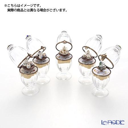 エッグボックス クリスタルシャンパン (オルゴール付:花のワルツ/チャイコフスキー)