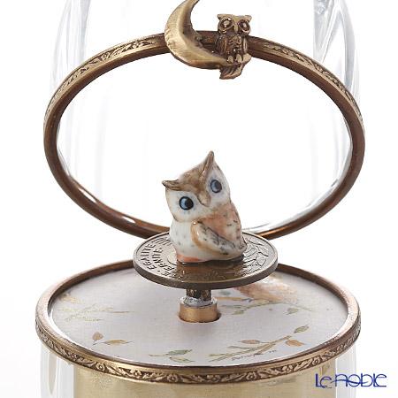エッグボックス クリスタルフクロウ (オルゴール付:エリーゼのために/ベートーヴェン