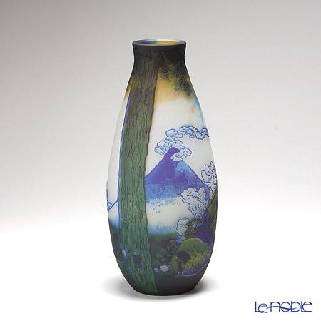 ヌーボージャパン 富嶽三十六景 甲州三嶌越葛飾北斎 NJ-1021 ベース(花瓶)