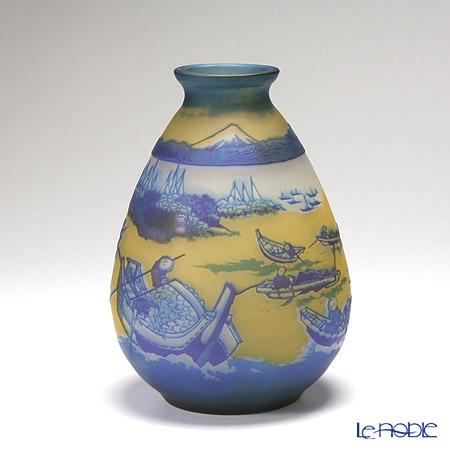 ヌーボージャパン 富嶽三十六景 武陽佃嶌葛飾北斎 NJ-2022 ベース(花瓶)