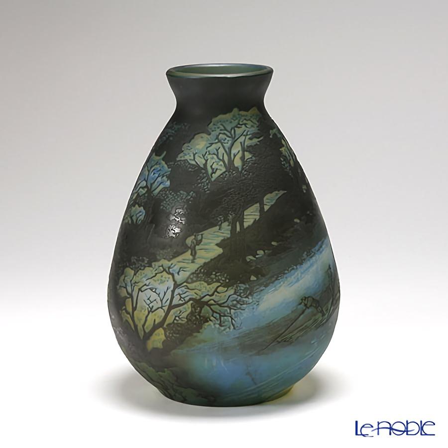 ヌーボージャパン 京都名所の内 あらし山満花歌川広重 NJ-2012 ベース(花瓶)