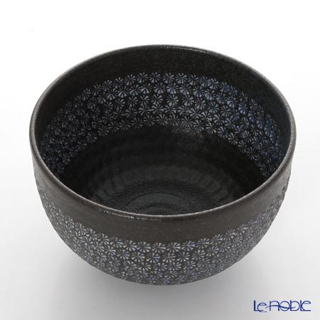 Kyo ware / Kiyomizu ware 'Nanban Mishimazume' M0033 Matcha Bowl 400ml
